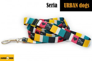 Smycz Urban dogs -  Color dogs
